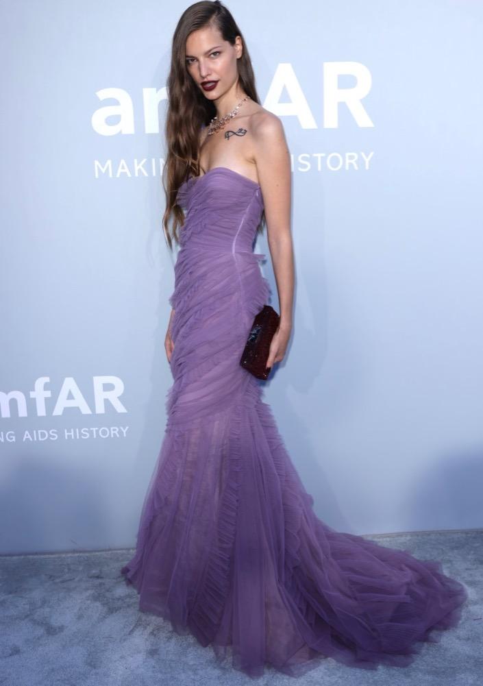 Faretta at the 2021 amfAR Gala Cannes