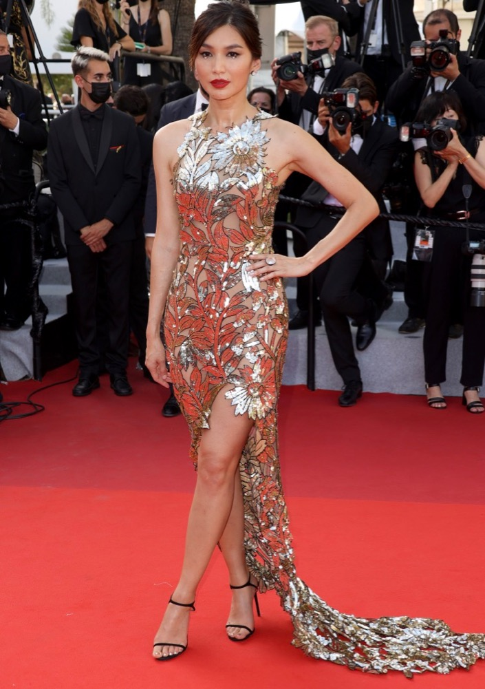 Gemma Chan at the Closing Ceremony and Premiere of OSS 117: From Africa with Love