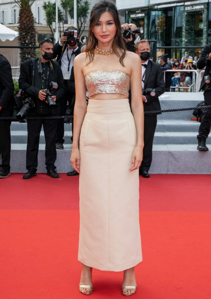 Gemma Chan at the Premiere of Les Intranquilles