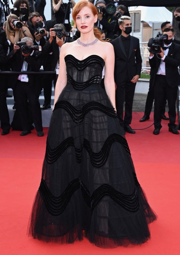 Jessica Chastain at the Opening Ceremony and Premiere of Annette