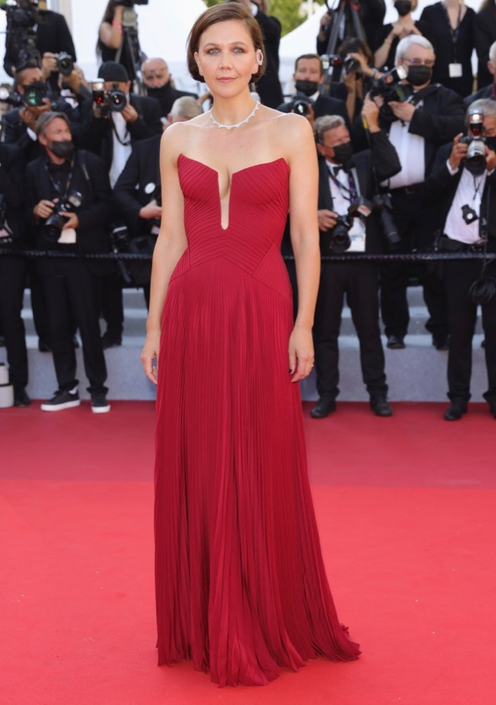 Maggie Gyllenhaal at the Premiere of Benedetta