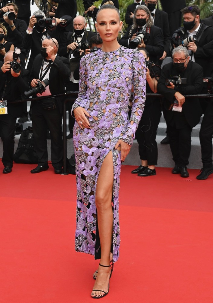 Natasha Poly at the Premiere of The French Dispatch