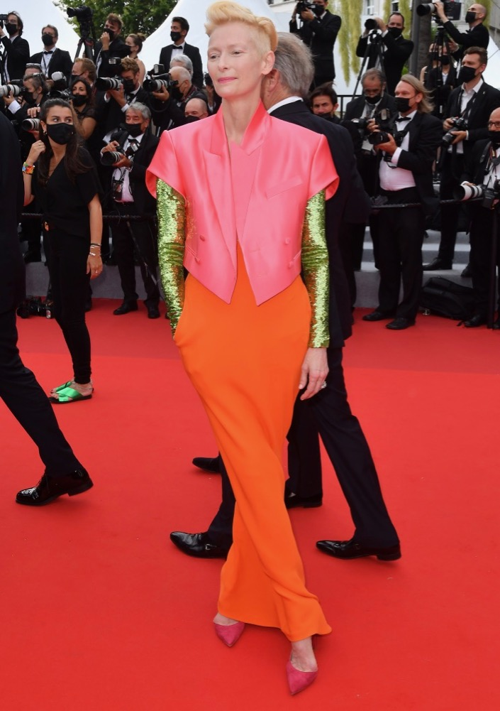 Tilda Swinton at the Premiere of The French Dispatch