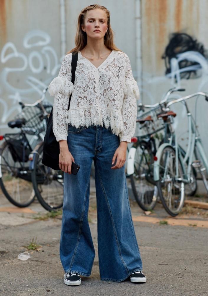 Pants baggy girls wearing Hippie Girl