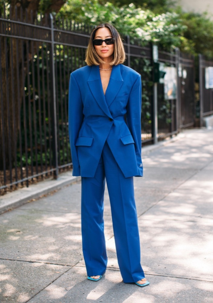 New York Fashion Week Street Style Spring 2022