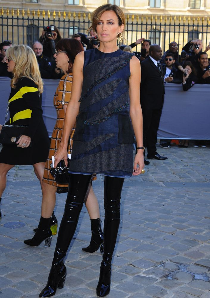 Celebrities Front Row at Paris Fashion Week Spring 2016 ...